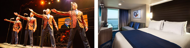 Jersey Boys and Balcony Stateroom