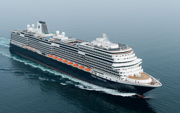 Koningsdam, sister ship to the new Ryndam