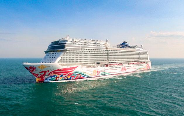 Norwegian Joy will begin sailing to Alaska in April 2019.