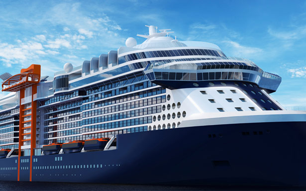 Celebrity Apex sister ship to Celebrity Edge will debut in 2020.