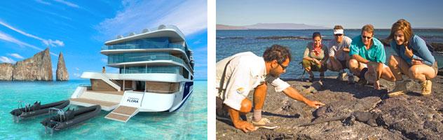 Galapagos Cruising - Courtesy of Celebrity Cruises