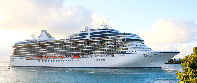 Oceania Marina - Courtesy of Oceania Cruises