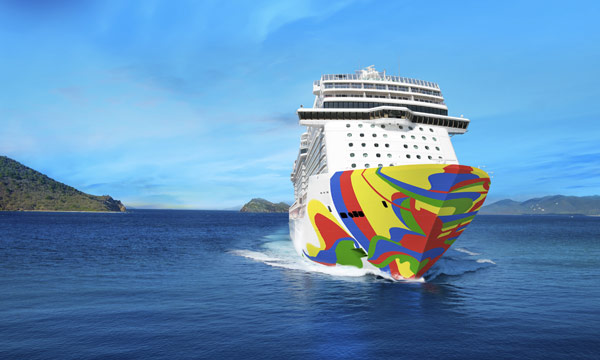 Norwegian Encore hull rendering