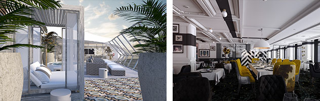 Iconic Suite aboard Celebrity Edge