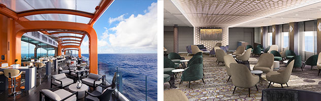 Magic Carpet and Public Space aboard Celebrity Edge