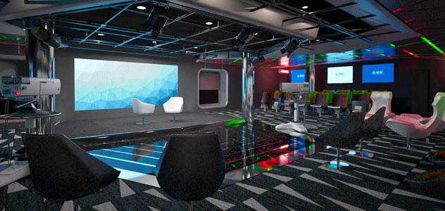 MSC Bellissima TV Studio
