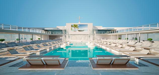 MSC Grandiosa Pool