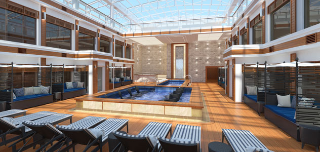 Norwegian Encore Haven Courtyard