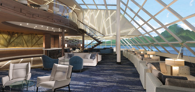 Norwegian Encore Haven Lounge