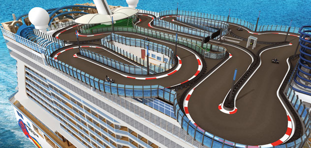 Norwegian Encore Race Track
