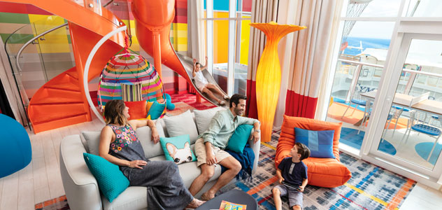 Spectrum of the Seas Ultimate Family Suite