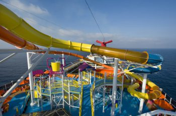 Waterslide on Carnival
