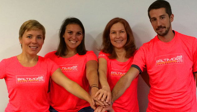 Baltimore marathon relay team!