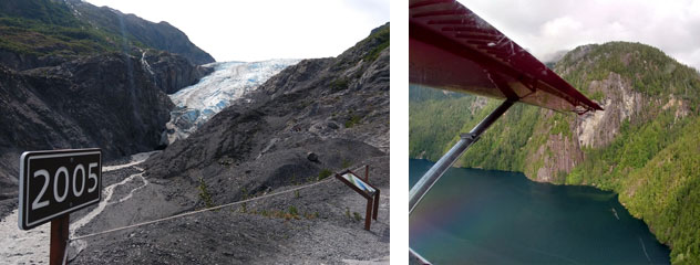 Exit Glacier Retreat, Flightseeing Misty Fjords
