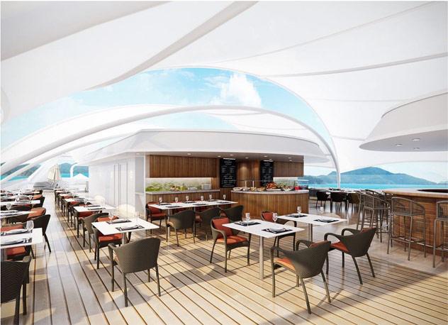 Windstar Cruise's New Star Grill