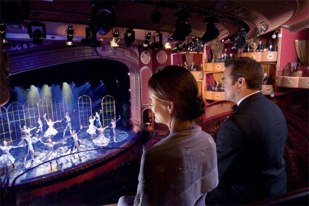 Theater Aboard Cunard's Queen Elizabeth