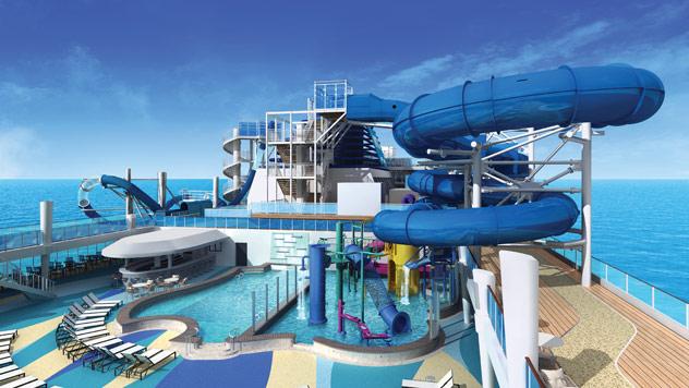 Norwegian Encore Aqua Park