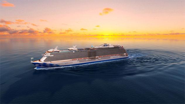 Princess Cruises' Discovery Princess