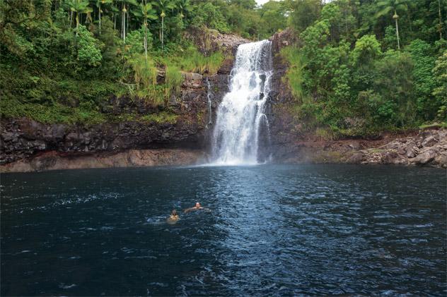 Norwegian Cruise Line Waterfall Destination