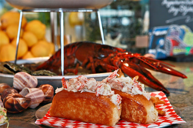 Carnival Cruise Line Seafood Dinner