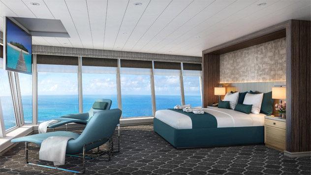 Ultimate Panoramic Suite Aboard Oasis of the Seas