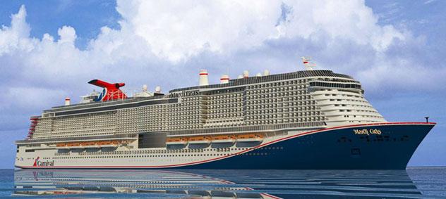 Carnival Cruise Line's Mardi Gras