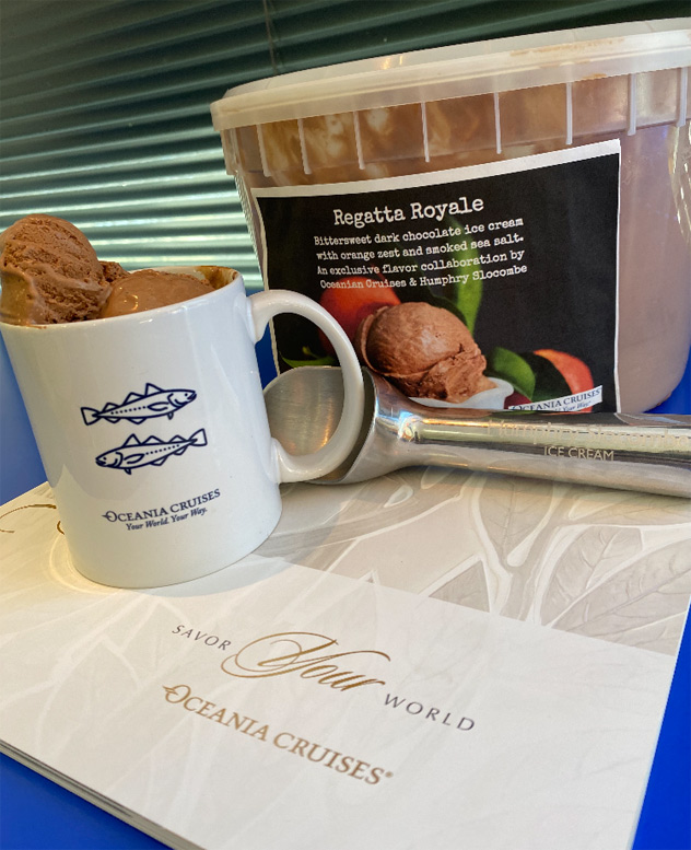 Regatta Royal Ice Cream for Oceania Cruises