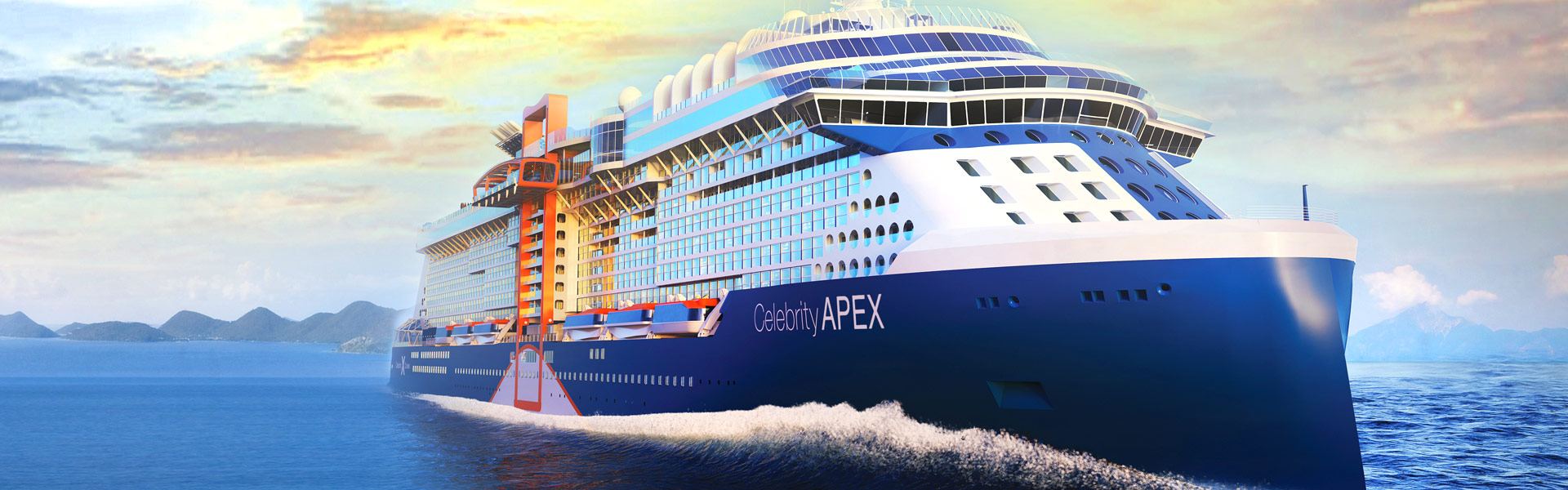 Celebrity Apex Cruise Ship Exterior