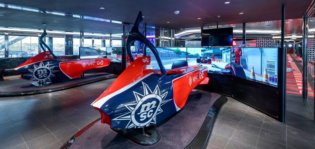 MSC Virtuosa Formula1 Simulators
