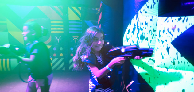 Odyssey of the Seas Laser Tag