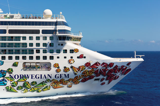 Norwegian Cruise Line returns with the Gem in the Caribbean