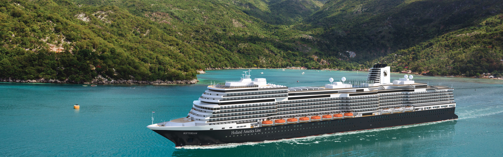 Holland America Fall 2021 Cruises on Rotterdam