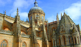 Salamanca Cathedral in Spain