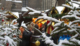 Mulled Wine at a Christmas Market
