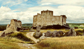 Chateau Gaillard in France
