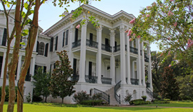 Nottoway Plantation in Louisiana