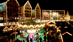 Christmas Market Shops