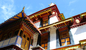Summer Palace in Tibet