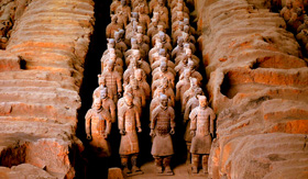 Terracotta Army of Xian, China