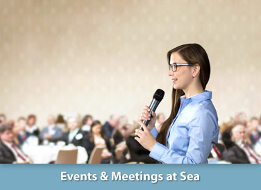 Events & Meetings at Sea