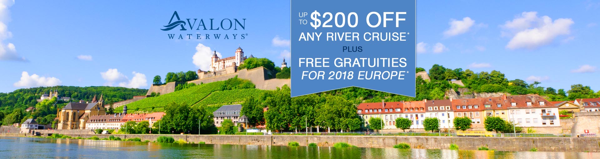 Avalon Waterways - Exclusive Savings Offer