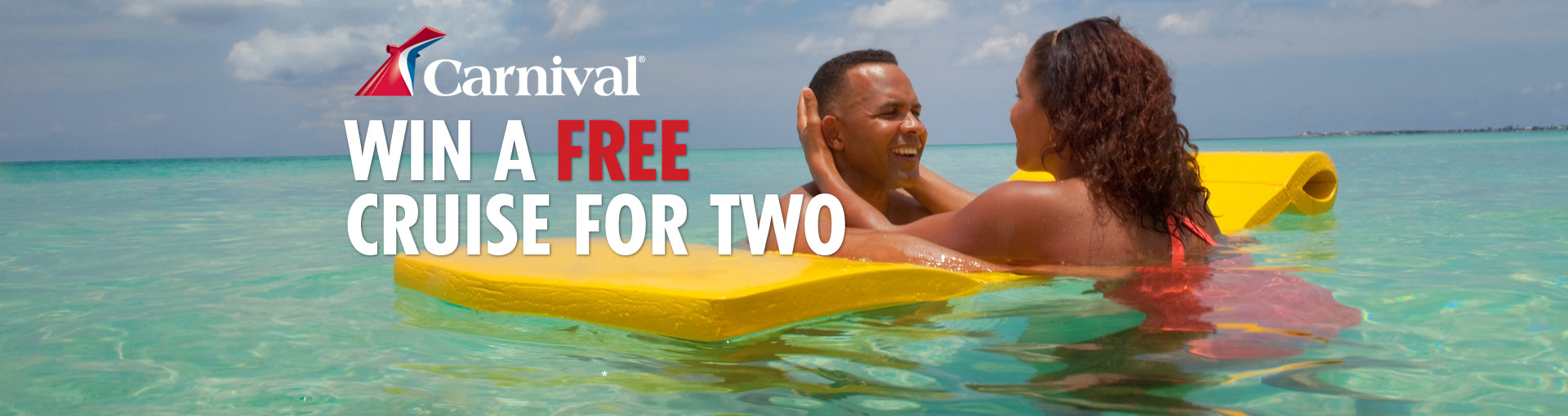Win a Free Carnival Cruise for Two