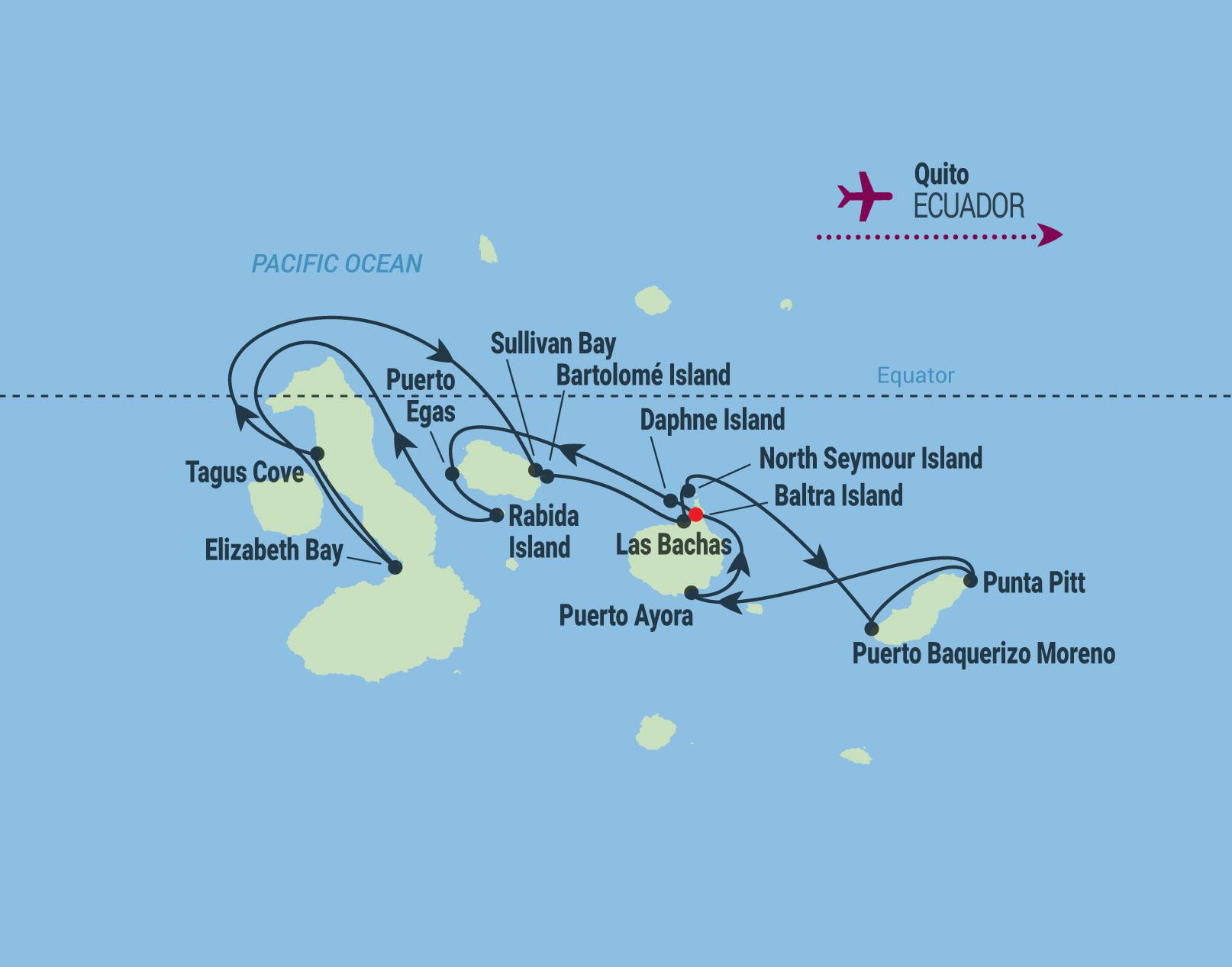 10 Night Galapagos Inner Loop