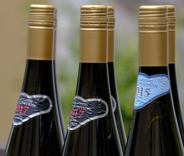 Some champgane bottles