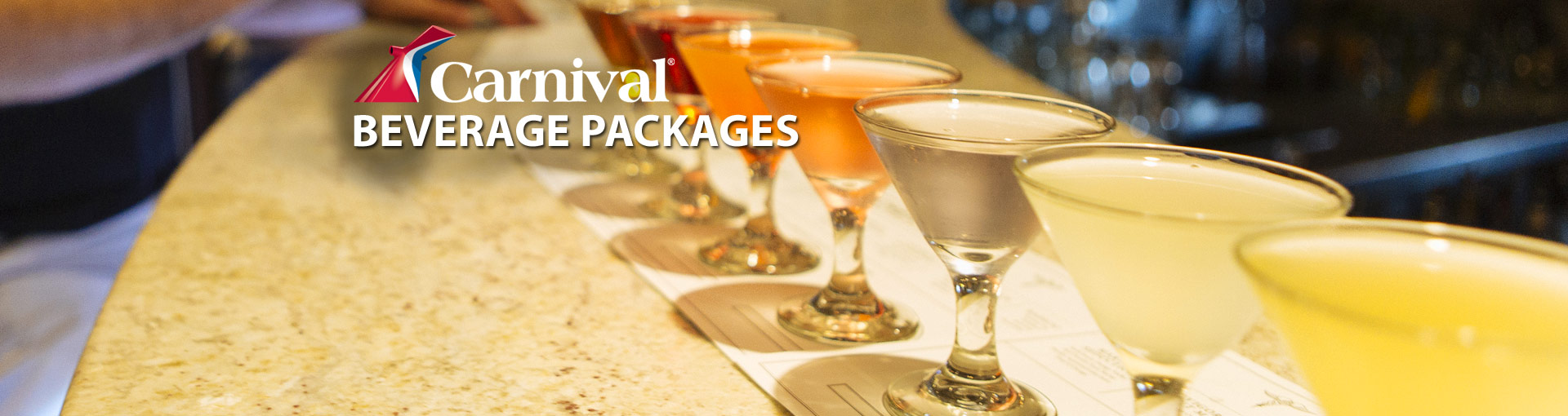 Carnival Cruise Line Drink Packages