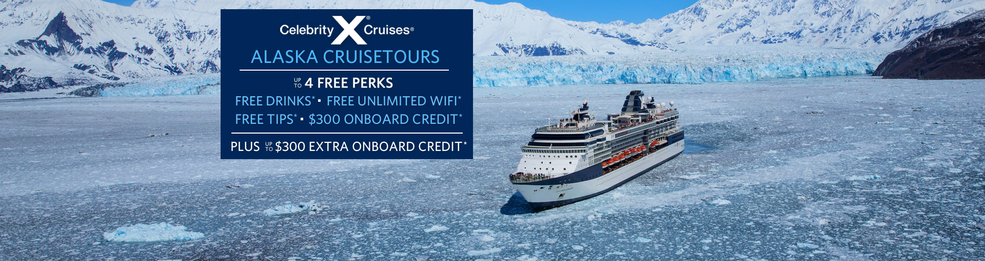 Celebrity Cruises: up to 4 FREE Perks