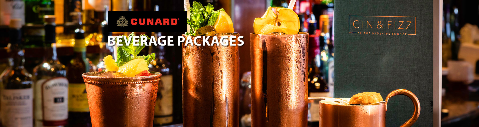 Cunard Drink Packages
