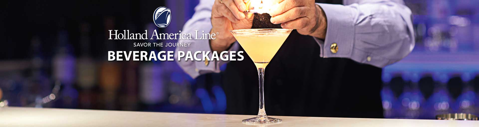 Holland America Line Drink Packages