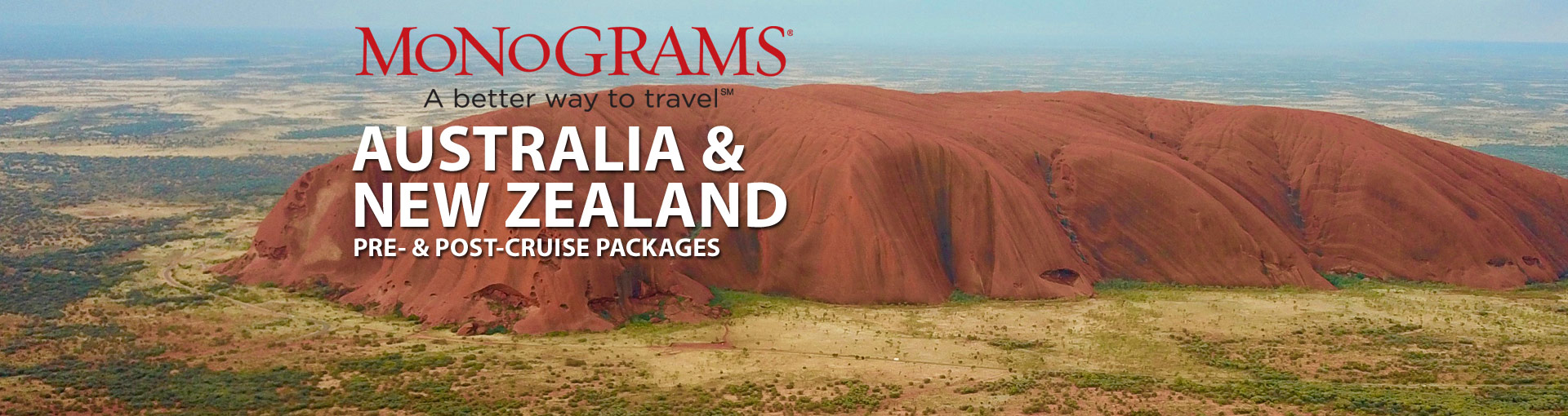 Monograms Australia and New Zealand Vacation Packages