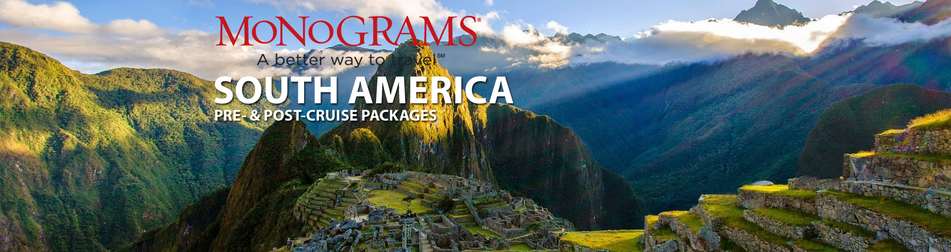 Monograms South America Vacation Packages